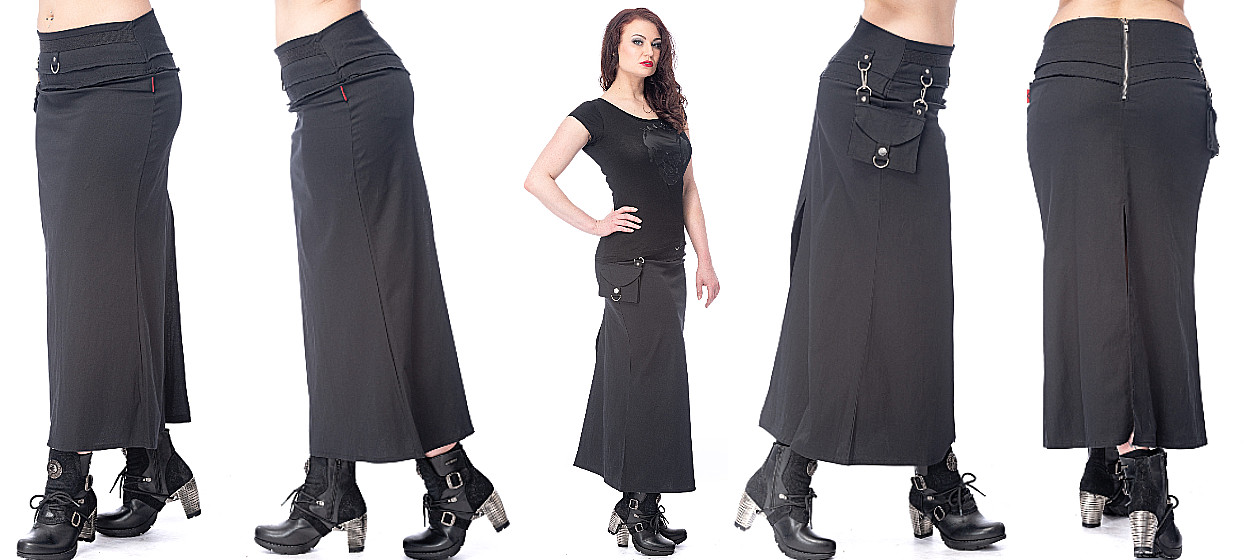 Gothic Skirts and Miniskirts from Queen of Darkness