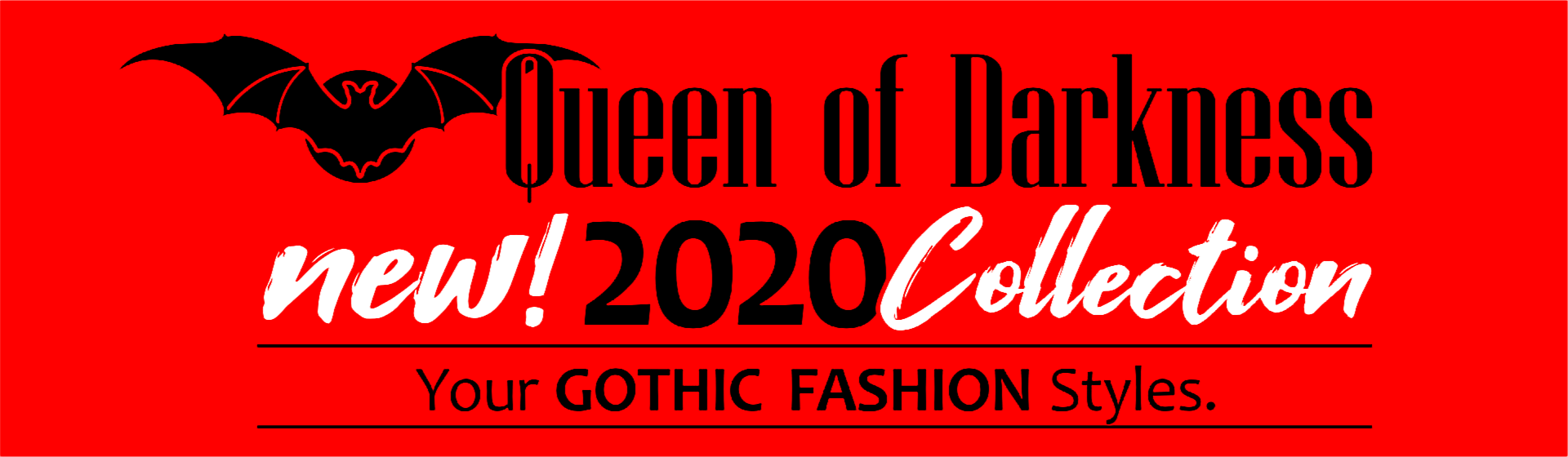 New GOTHIC Fashion COLLECTION 2020 by Queen of Darkness Gothic Fashion