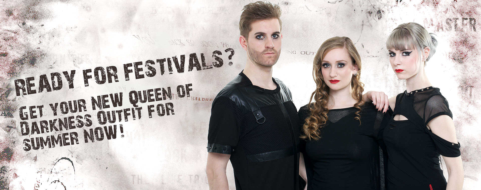 Elegante Gothic Festival Fashion - NOW in your Queen of Darkness Fashion Shop!