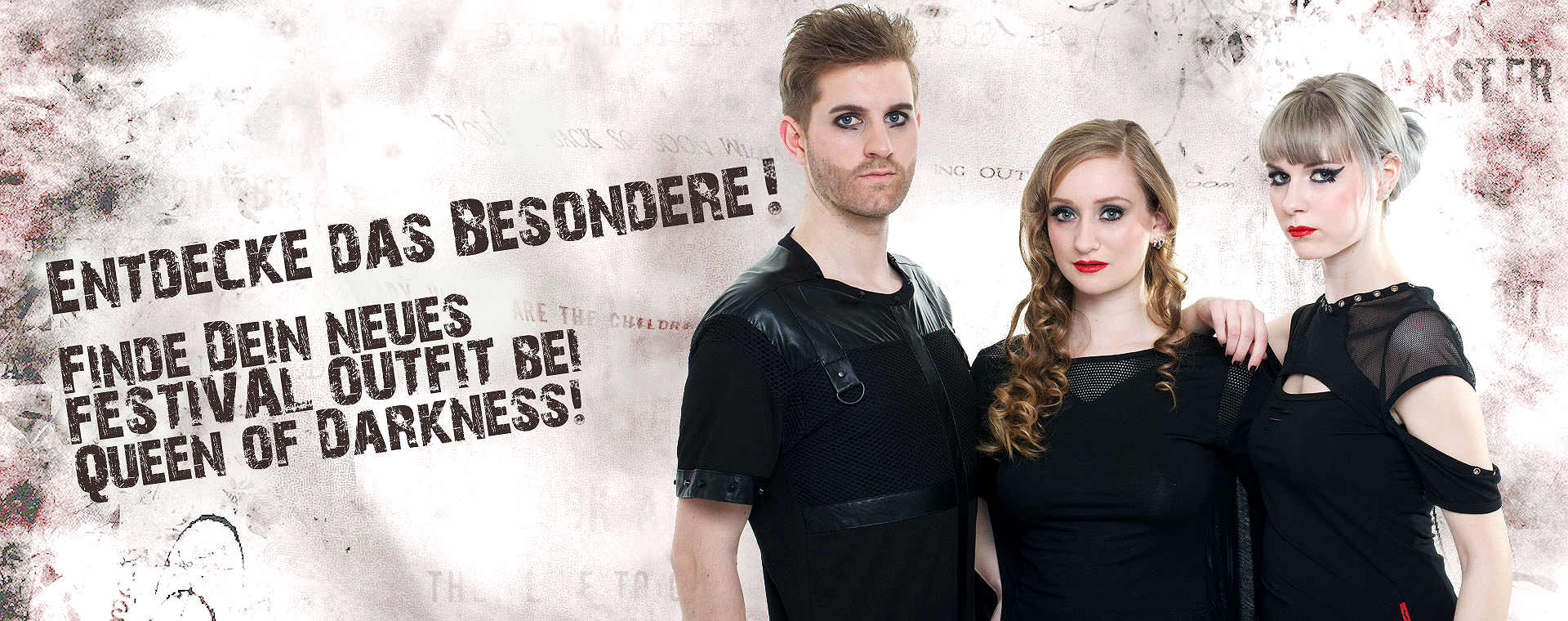 Elegante Luxus Gothic Festival Mode direkt hier im Queen of Darkness Shop bestellen!